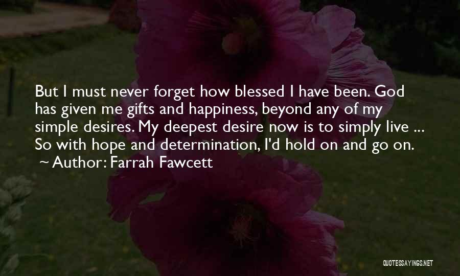 How To Live Quotes By Farrah Fawcett