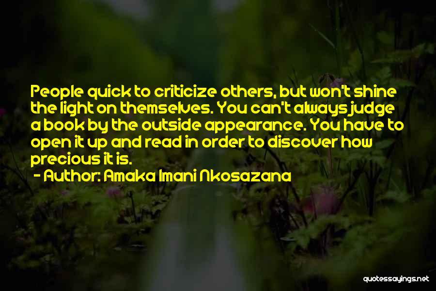 How To Love Book Quotes By Amaka Imani Nkosazana