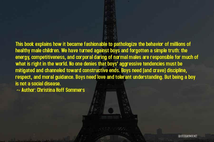 How To Love Book Quotes By Christina Hoff Sommers