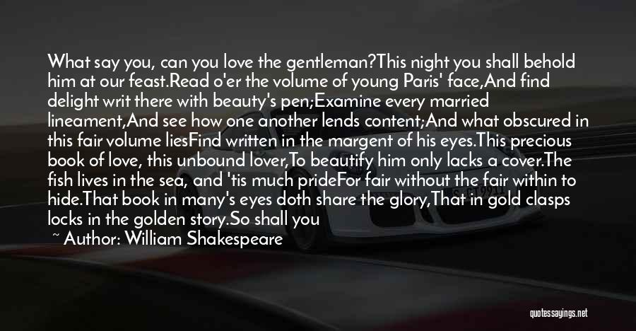 How To Love Book Quotes By William Shakespeare