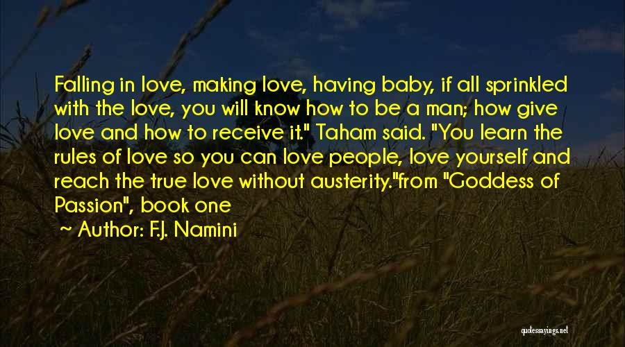 How To Love Yourself Quotes By F.J. Namini
