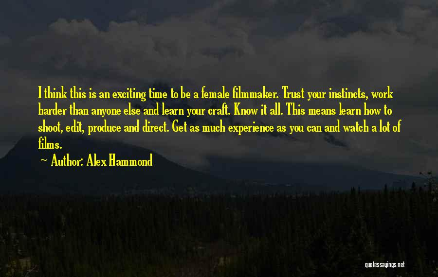 How Trust Is Hard Quotes By Alex Hammond