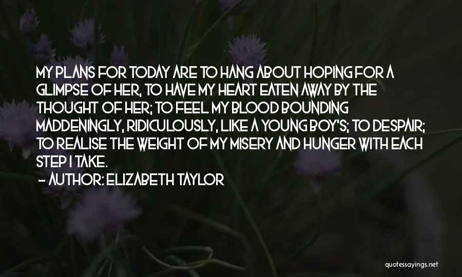 How You Feel About A Boy Quotes By Elizabeth Taylor