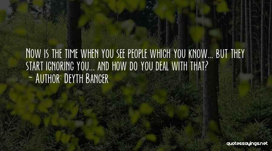 How You See Quotes By Deyth Banger