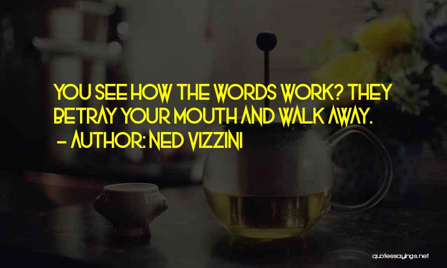 How You See Quotes By Ned Vizzini