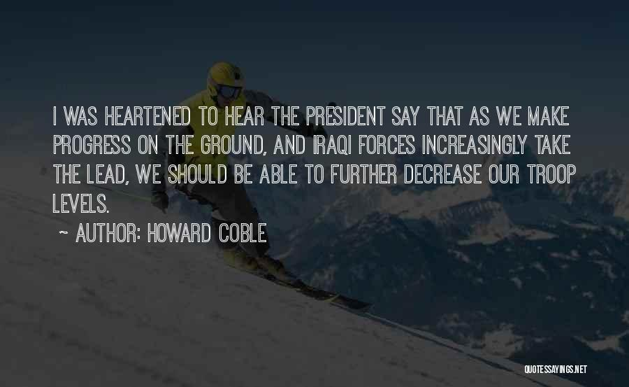 Howard Coble Quotes 1768152