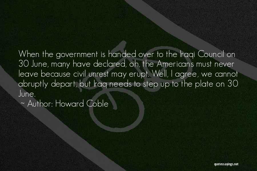 Howard Coble Quotes 1793152