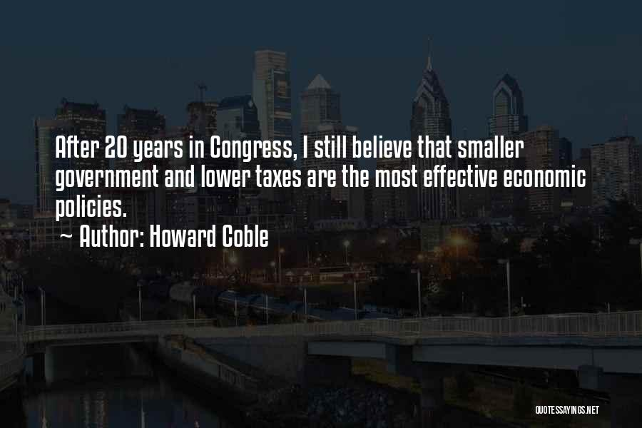 Howard Coble Quotes 1924916