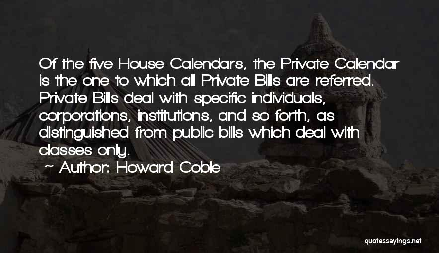 Howard Coble Quotes 1948274