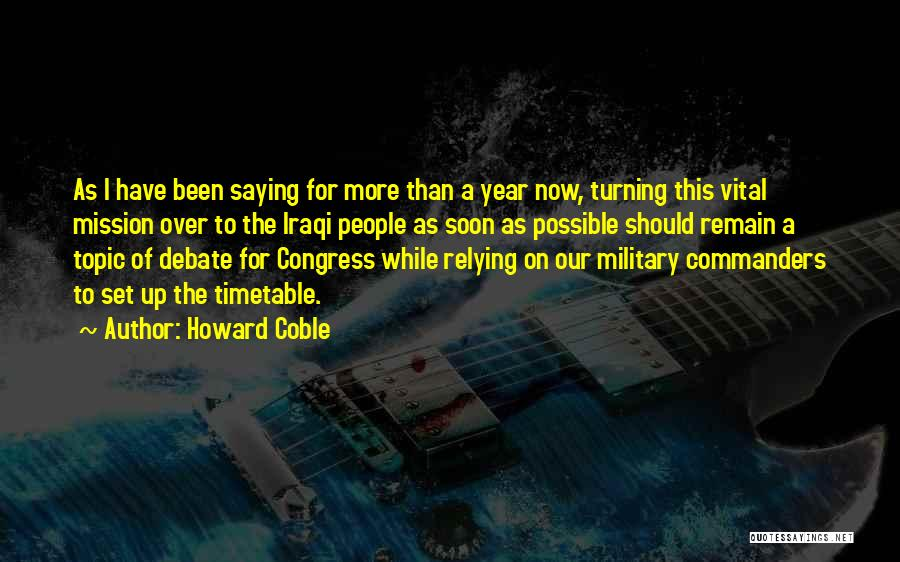 Howard Coble Quotes 85157