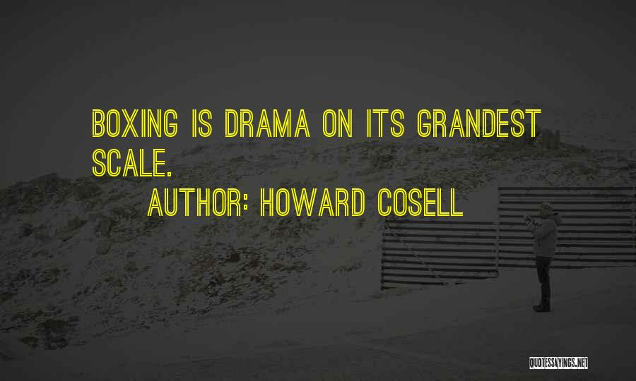 Howard Cosell Boxing Quotes By Howard Cosell