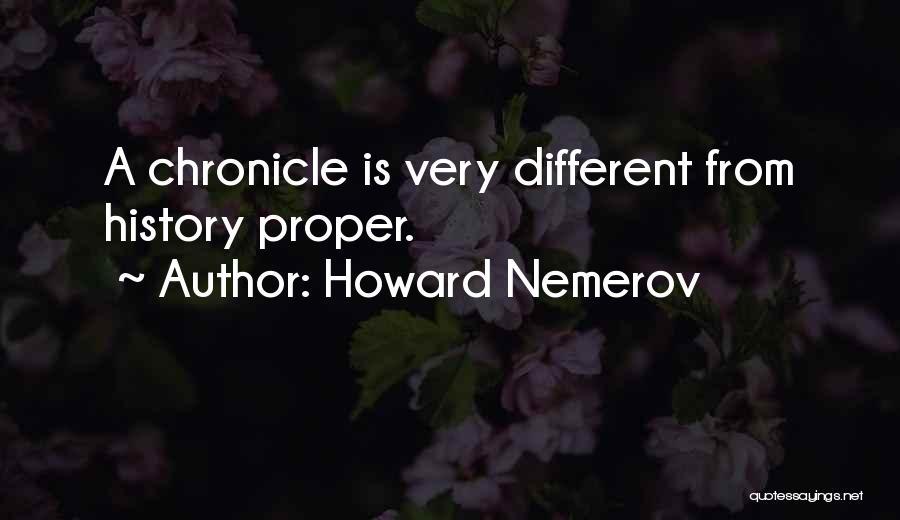 Howard Nemerov Quotes 1170366