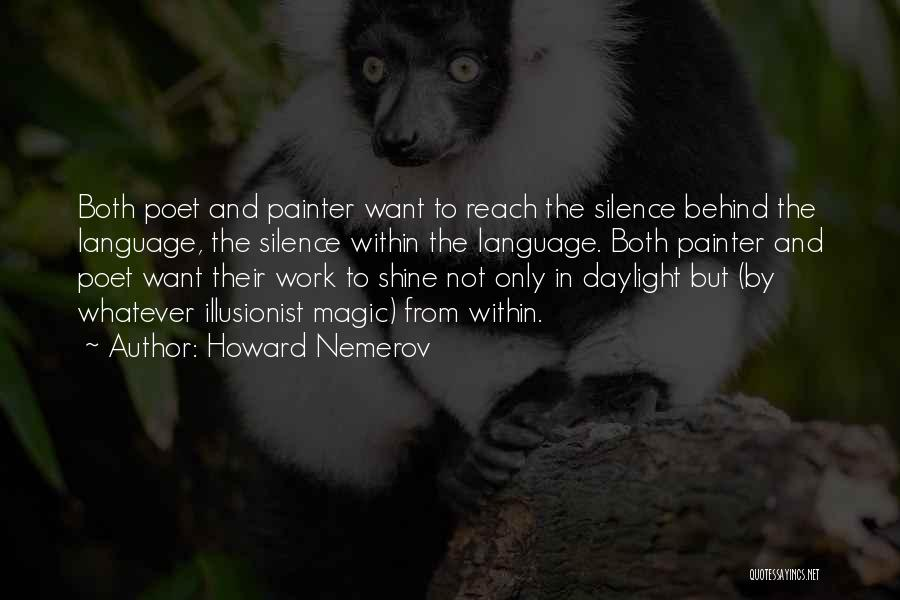 Howard Nemerov Quotes 1210370