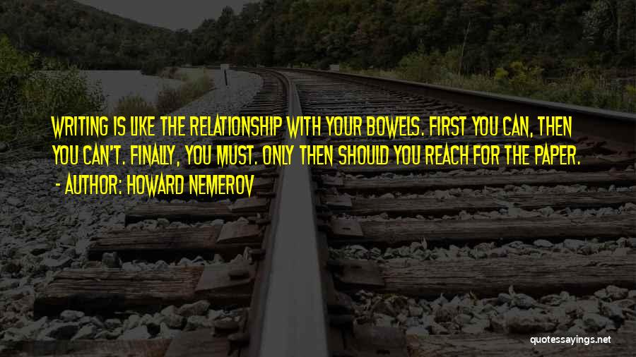 Howard Nemerov Quotes 1228373