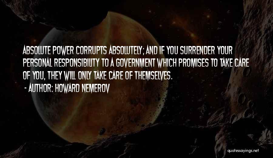 Howard Nemerov Quotes 1434558