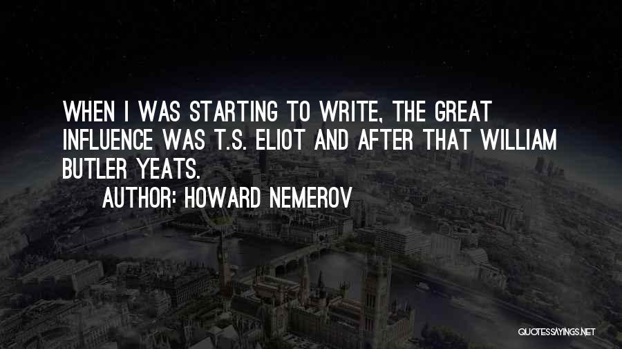 Howard Nemerov Quotes 1909574