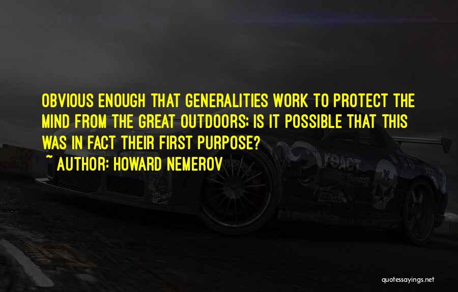 Howard Nemerov Quotes 2193291