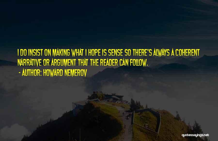 Howard Nemerov Quotes 448755