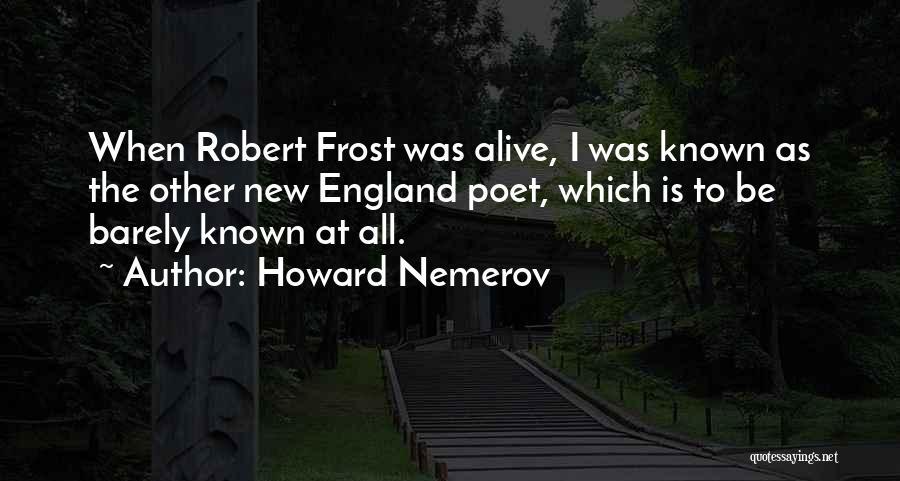 Howard Nemerov Quotes 646256