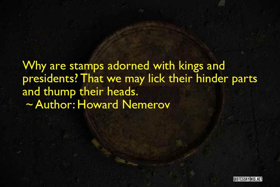 Howard Nemerov Quotes 691749