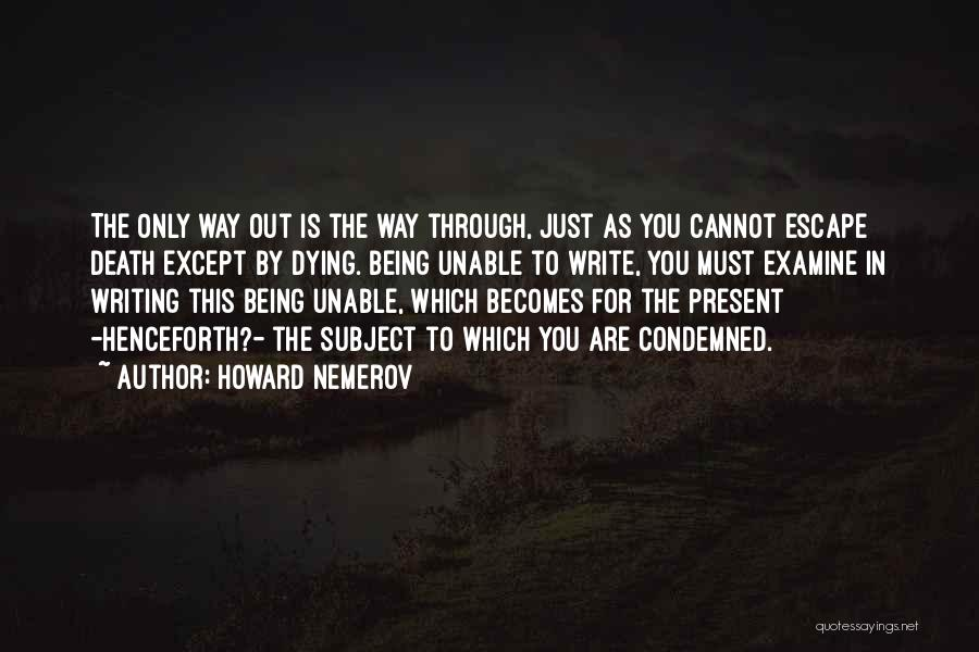 Howard Nemerov Quotes 870562