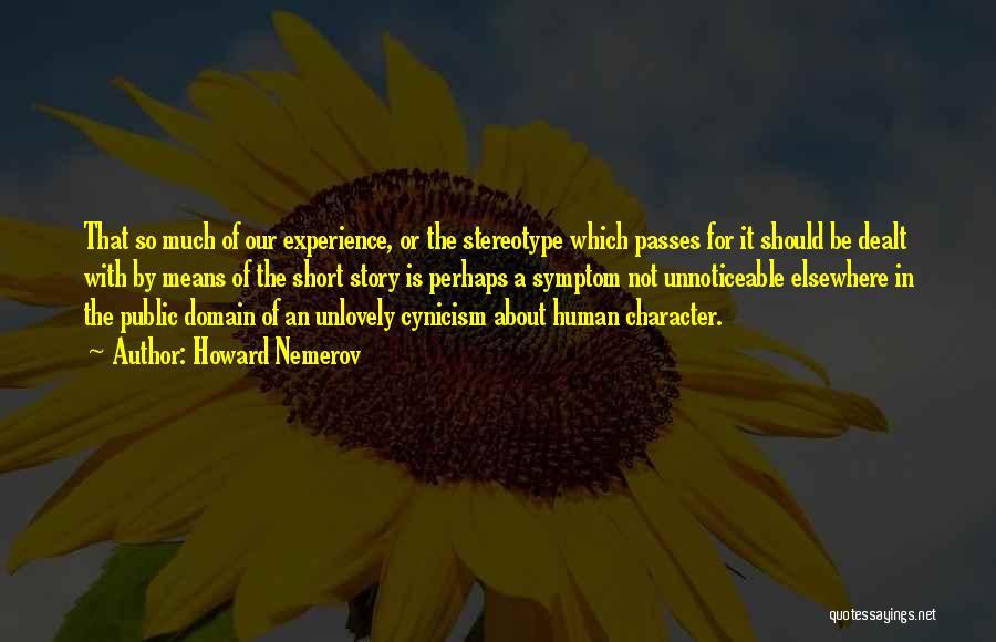 Howard Nemerov Quotes 937759