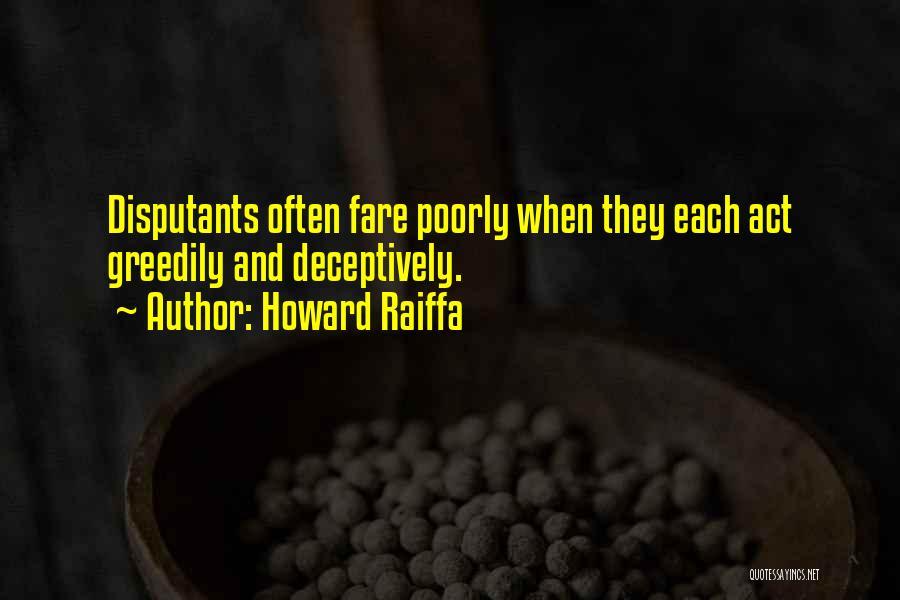 Howard Raiffa Quotes 2091429