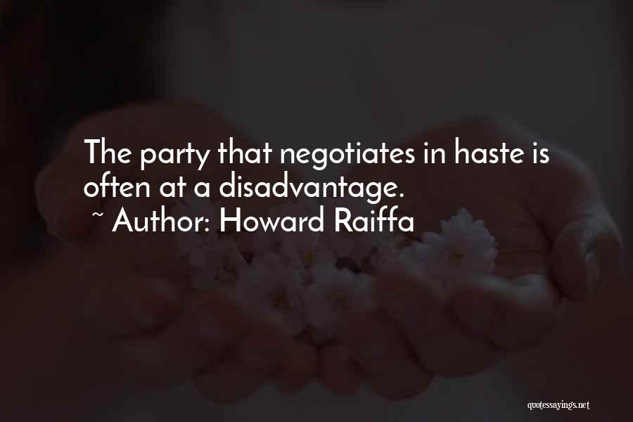 Howard Raiffa Quotes 501620