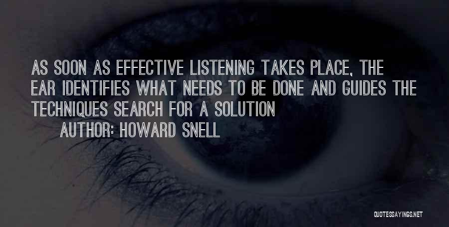 Howard Snell Quotes 813718