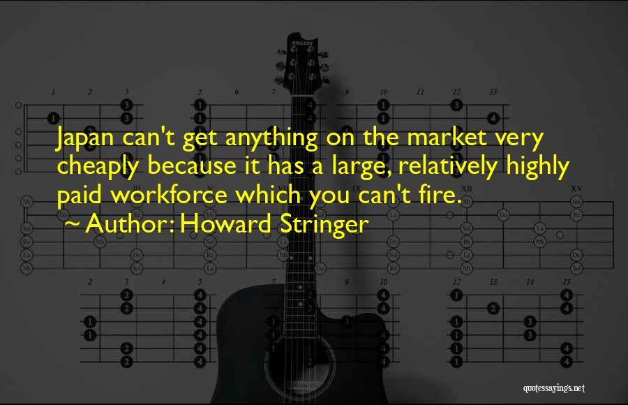 Howard Stringer Quotes 698610