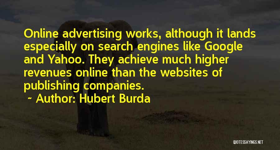 Hubert Burda Quotes 2100361