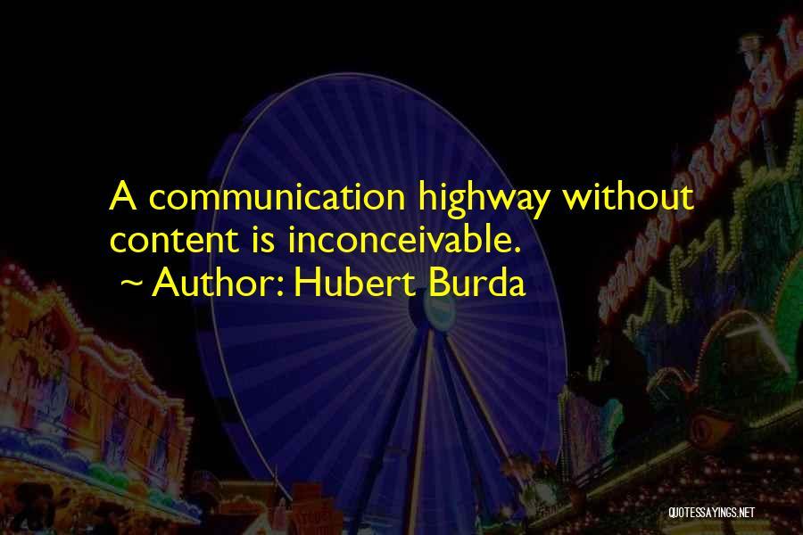 Hubert Burda Quotes 821519