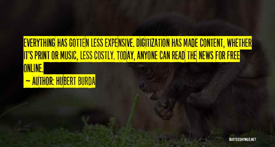 Hubert Burda Quotes 926127