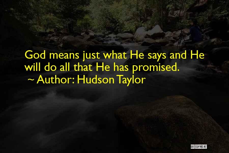 Hudson Taylor Quotes 1594124