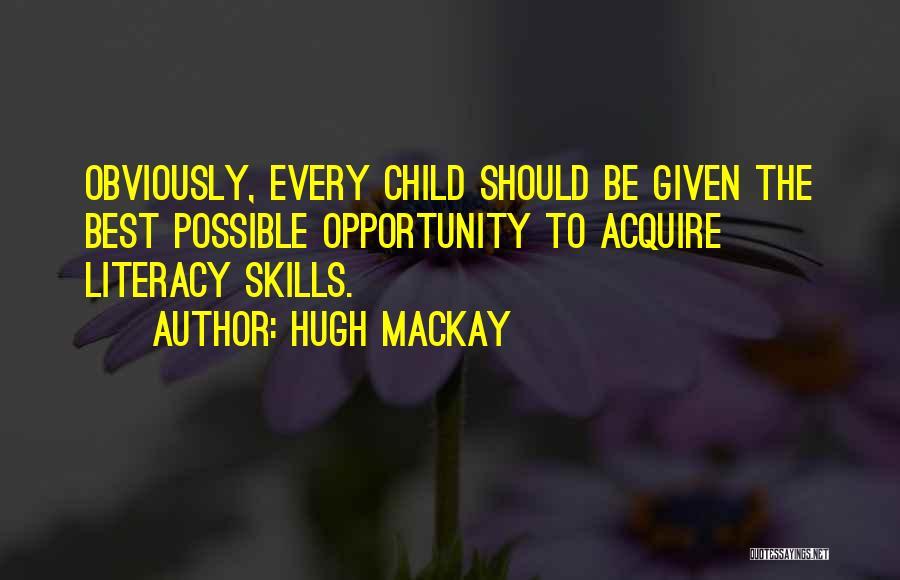 Hugh Mackay Quotes 345776