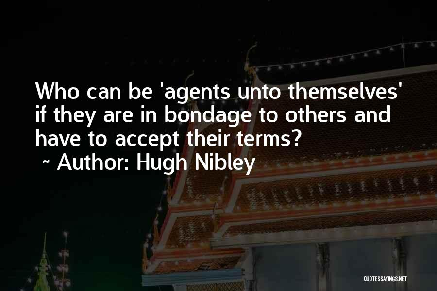 Hugh Nibley Quotes 1881116