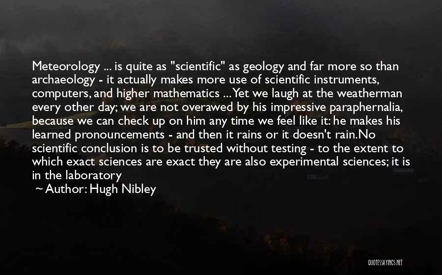 Hugh Nibley Quotes 2111070