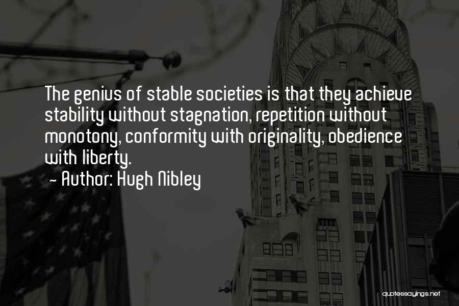 Hugh Nibley Quotes 331830