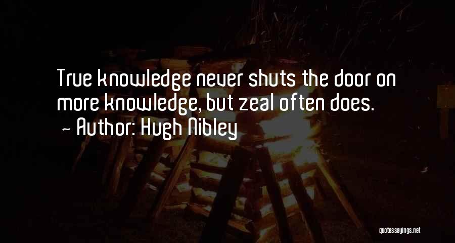 Hugh Nibley Quotes 530270