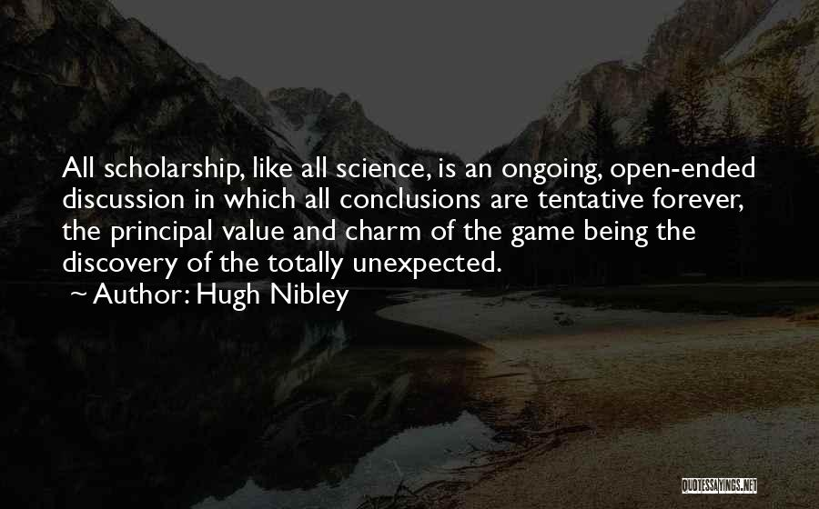 Hugh Nibley Quotes 693508