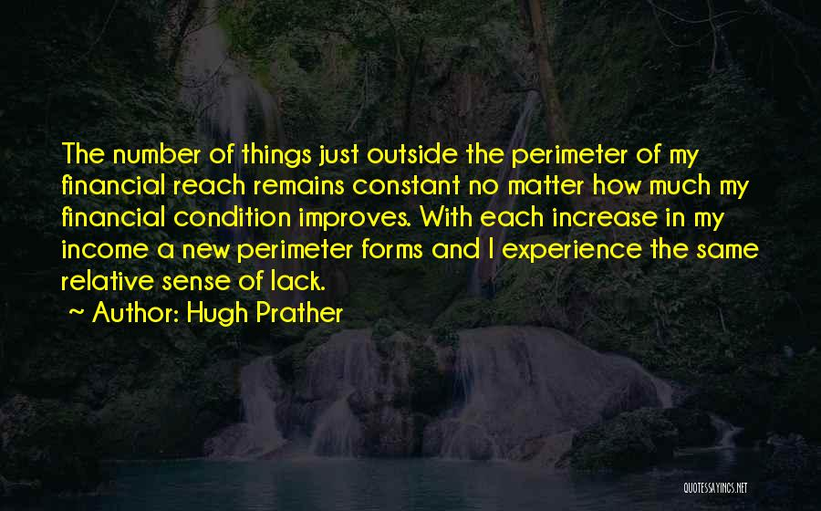 Hugh Prather Quotes 1079375