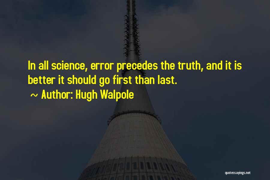 Hugh Walpole Quotes 1688084