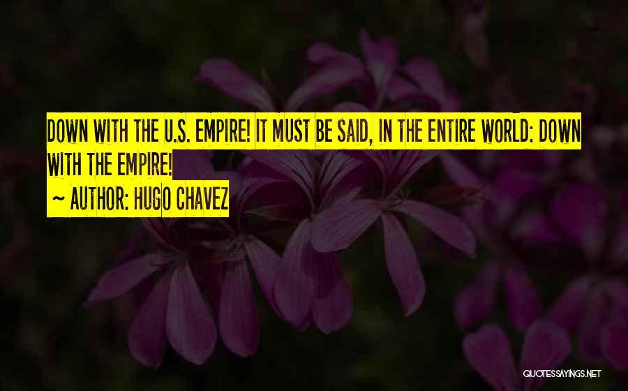 Hugo Chavez Quotes 130084