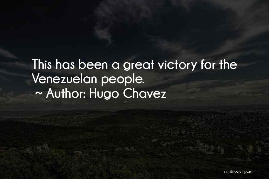 Hugo Chavez Quotes 1936913