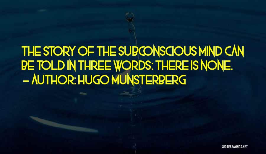 Hugo Munsterberg Quotes 1081116