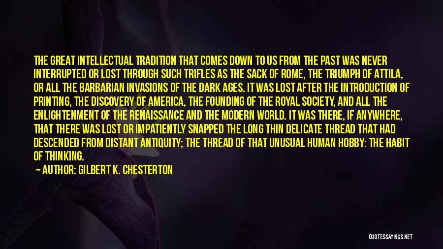 Human After All Quotes By Gilbert K. Chesterton