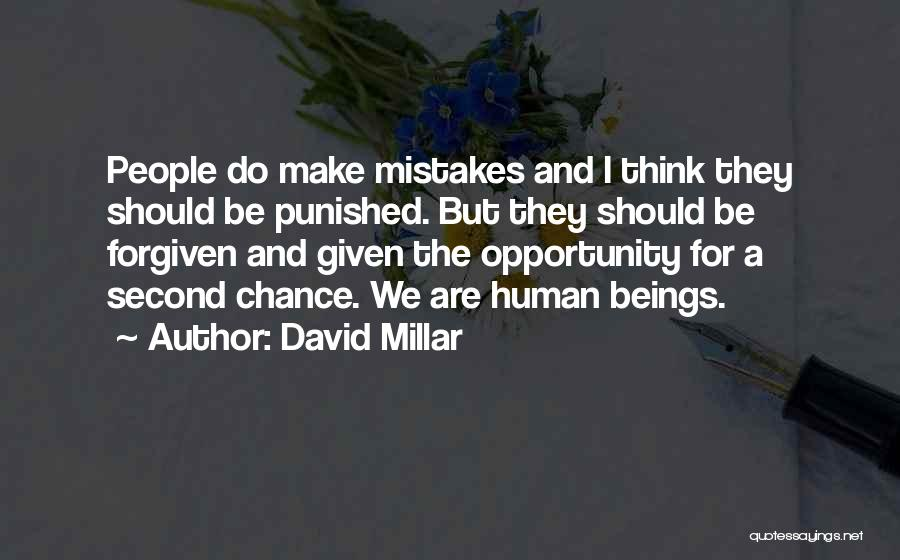 Human Beings Make Mistakes Quotes By David Millar