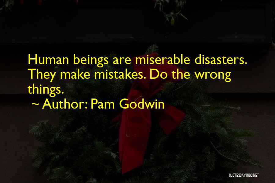 Human Beings Make Mistakes Quotes By Pam Godwin