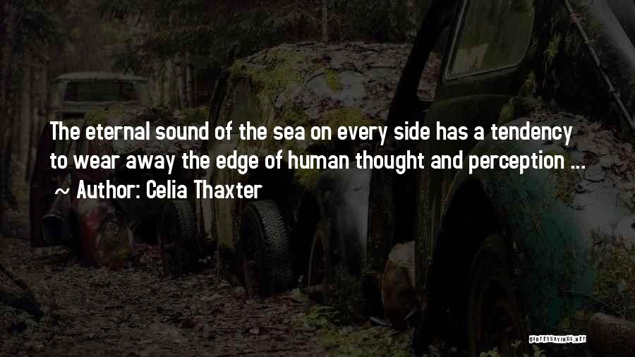 Human Perception Quotes By Celia Thaxter