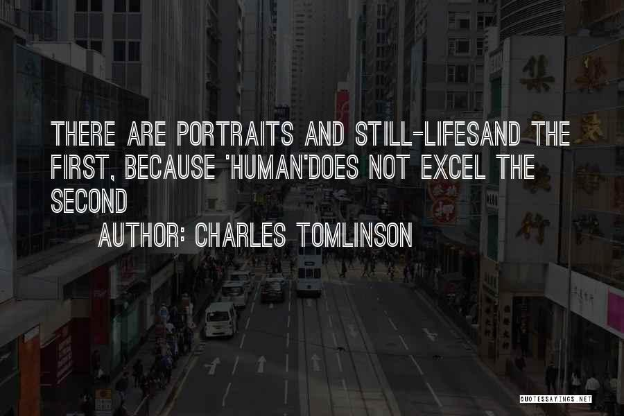 Human Perception Quotes By Charles Tomlinson